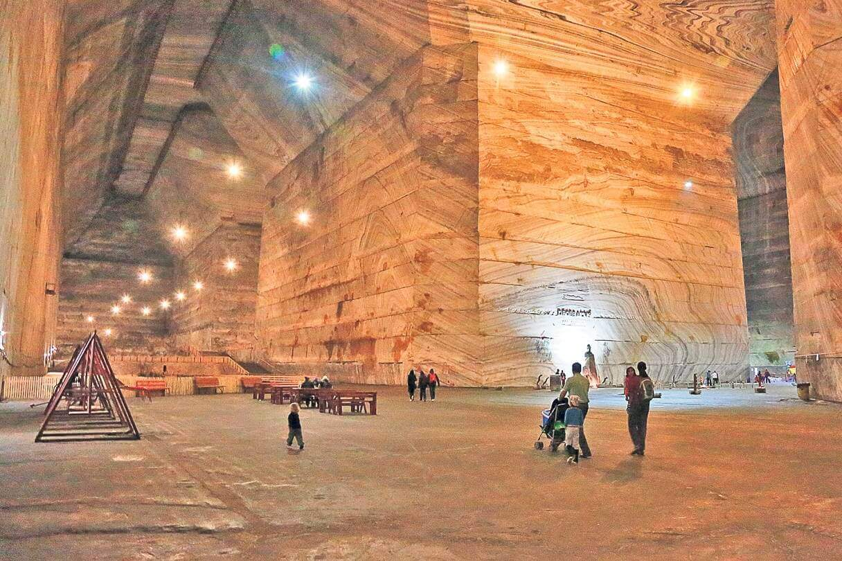 Wallachia Caves and Salt Mines